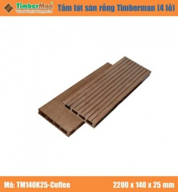 Timberman 4 lỗ 140K25 – WOOD
